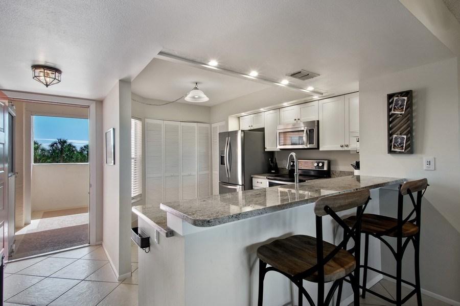 Real Estate Photography - 100 Stevens Landing #206, Marco Island, FL, 34145 - Kitchen