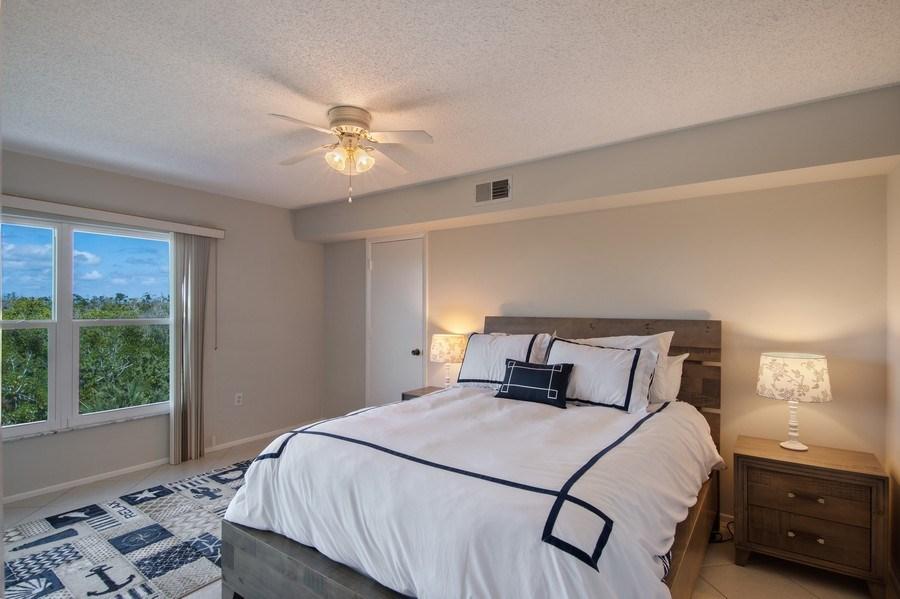 Real Estate Photography - 100 Stevens Landing #206, Marco Island, FL, 34145 - Master Bedroom