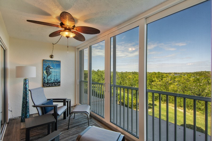 Real Estate Photography - 100 Stevens Landing #206, Marco Island, FL, 34145 - Patio