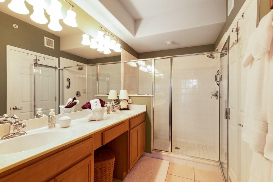 Real Estate Photography - 11610 Navarro Way, #2302, Fort Myers, FL, 33908 - Master Bathroom