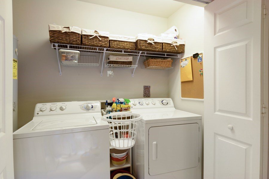 Real Estate Photography - 11610 Navarro Way, #2302, Fort Myers, FL, 33908 - Laundry Room