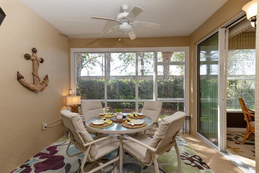 Real Estate Photography - 11610 Navarro Way, #2302, Fort Myers, FL, 33908 - Lanai