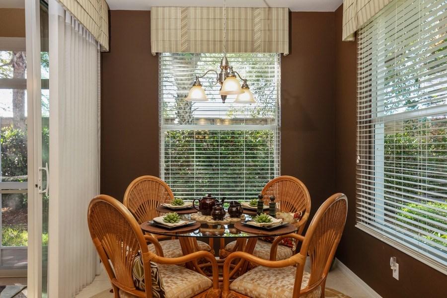 Real Estate Photography - 11610 Navarro Way, #2302, Fort Myers, FL, 33908 - Breakfast Nook
