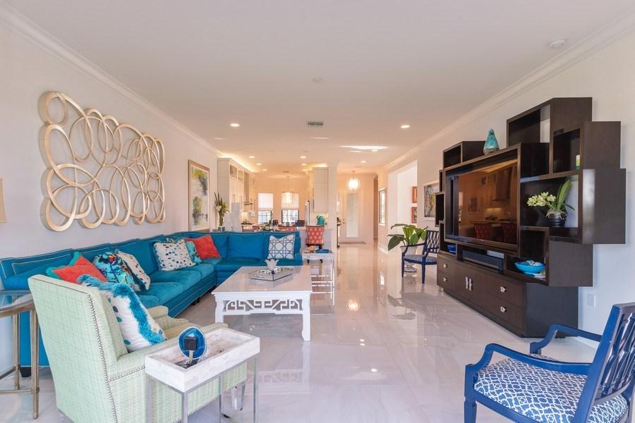 Real Estate Photography - 4213 Amelia Way, (Stonecreek), Naples, FL, 34119 - Living Room