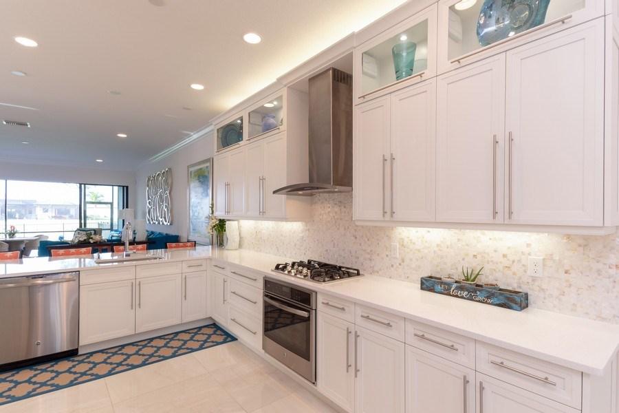 Real Estate Photography - 4213 Amelia Way, (Stonecreek), Naples, FL, 34119 - Kitchen