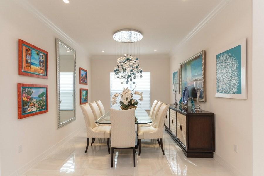 Real Estate Photography - 4213 Amelia Way, (Stonecreek), Naples, FL, 34119 - Dining Area
