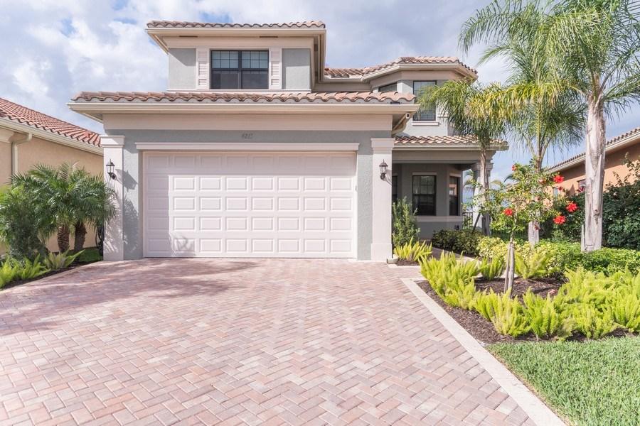 Real Estate Photography - 4213 Amelia Way, (Stonecreek), Naples, FL, 34119 - Front View