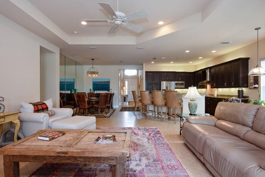 Real Estate Photography - 13835 Luna Dr, Marbella Isles, Naples, FL, 34109 - Living Room