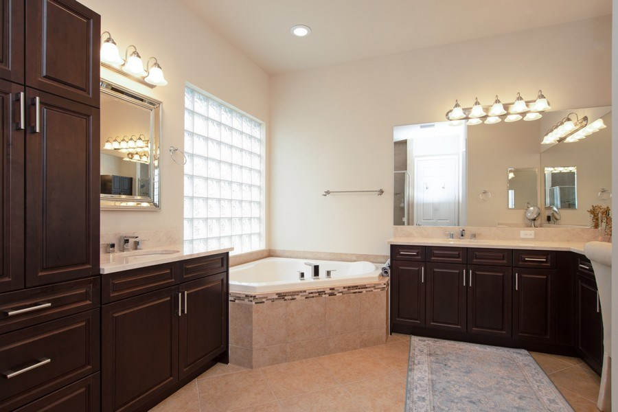 Real Estate Photography - 13835 Luna Dr, Marbella Isles, Naples, FL, 34109 - Master Bathroom