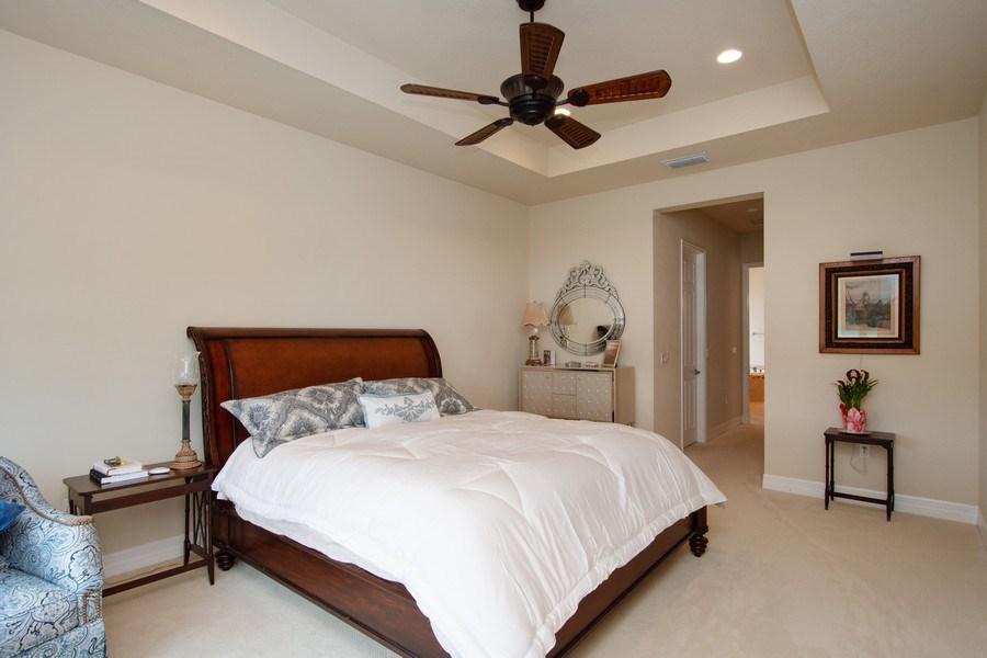 Real Estate Photography - 13835 Luna Dr, Marbella Isles, Naples, FL, 34109 - Master Bedroom