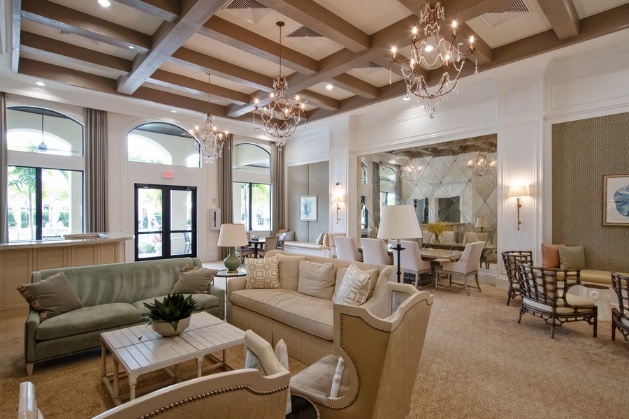 Real Estate Photography - 13835 Luna Dr, Marbella Isles, Naples, FL, 34109 - Clubhouse
