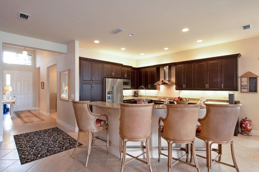Real Estate Photography - 13835 Luna Dr, Marbella Isles, Naples, FL, 34109 - Kitchen