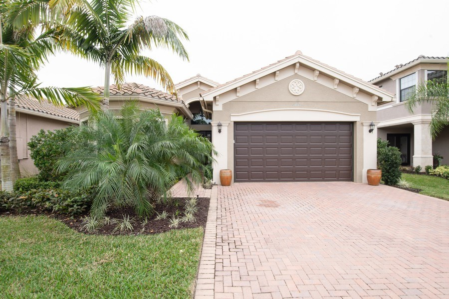 Real Estate Photography - 13835 Luna Dr, Marbella Isles, Naples, FL, 34109 - Front View