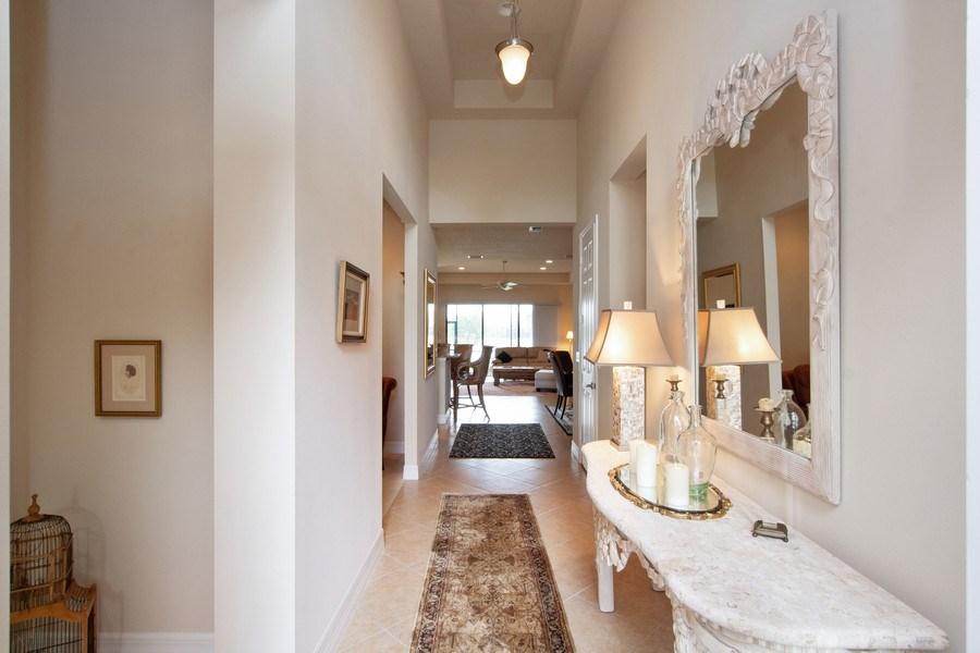 Real Estate Photography - 13835 Luna Dr, Marbella Isles, Naples, FL, 34109 - Hallway