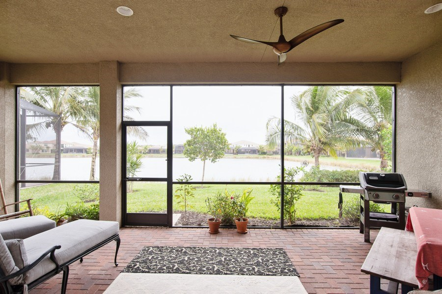 Real Estate Photography - 13835 Luna Dr, Marbella Isles, Naples, FL, 34109 - Patio