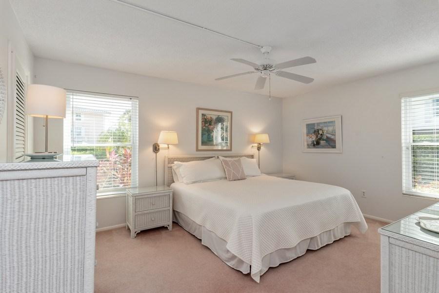 Real Estate Photography - 1910 Gulf Shore Blvd N, 106, Naples, FL, 34102 - Master Bedroom
