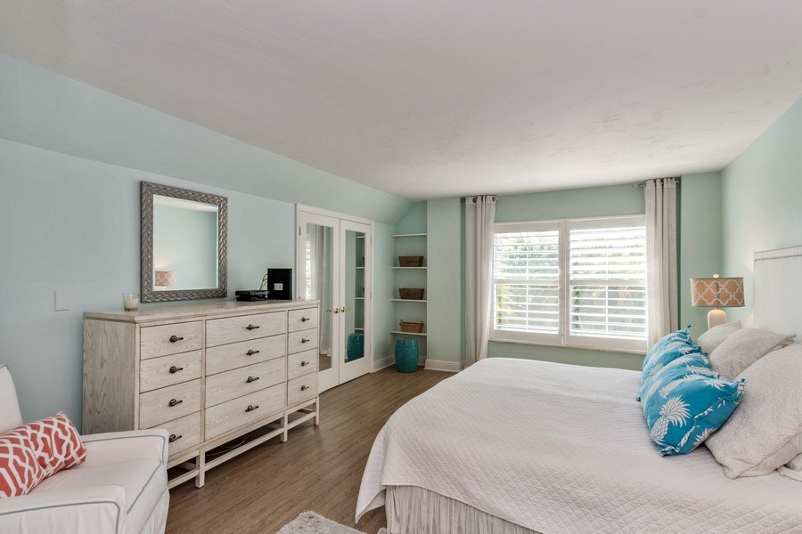 Real Estate Photography - 1900 Gulf Shore Blvd N, 104, Naples, FL, 34102 - Master Bedroom
