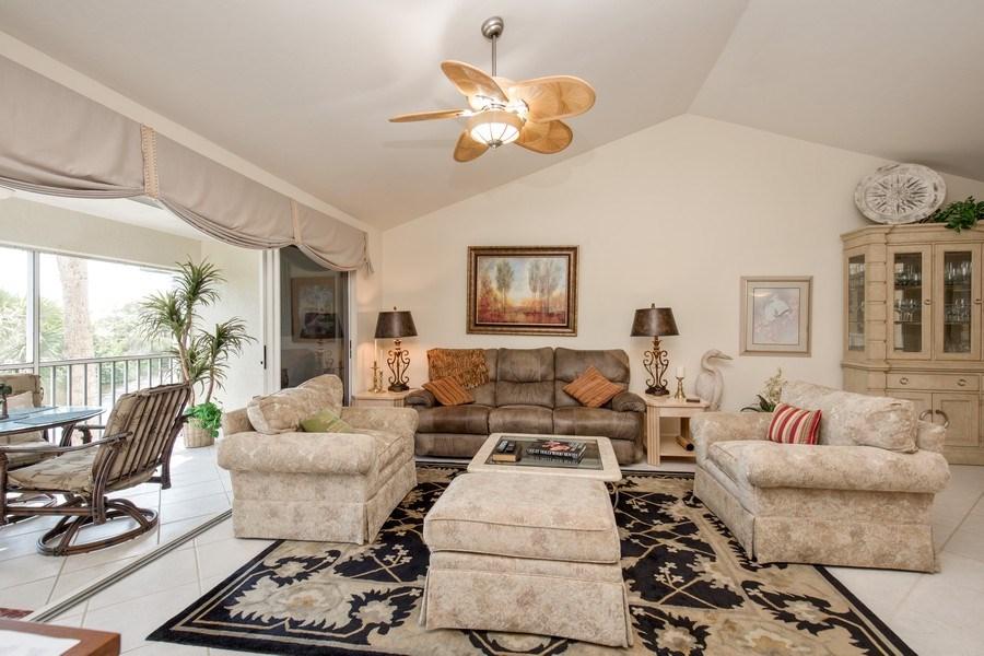 Real Estate Photography - 4250 Lake Forest Dr, 323, Bonita Springs, FL, 34134 - Living Room