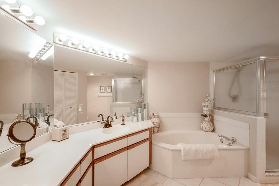Real Estate Photography - 4250 Lake Forest Dr, 323, Bonita Springs, FL, 34134 - Master Bathroom