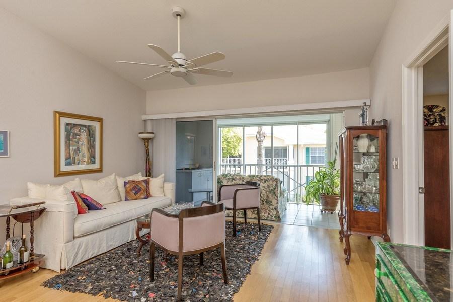 Real Estate Photography - 7096 Barrington circle #202, Naples, FL, 34108 - Living Room