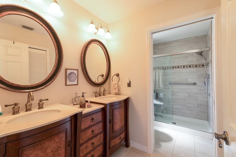 Real Estate Photography - 7096 Barrington circle #202, Naples, FL, 34108 - Master Bathroom