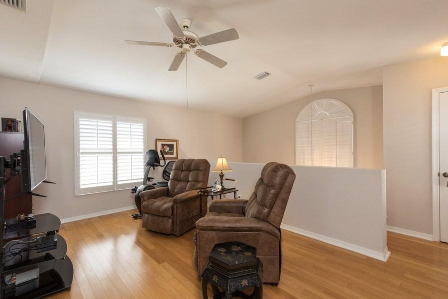 Real Estate Photography - 7096 Barrington circle #202, Naples, FL, 34108 - Open Den