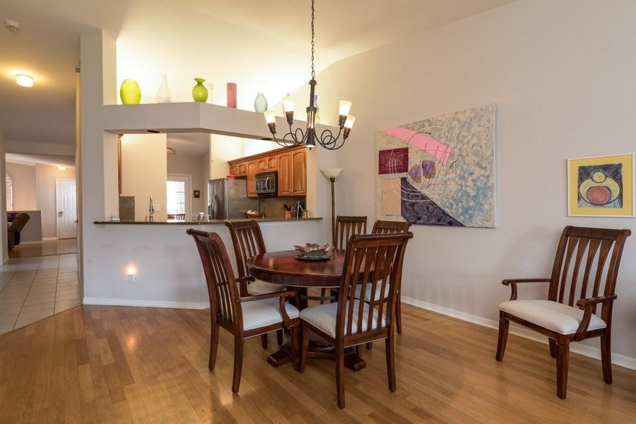 Real Estate Photography - 7096 Barrington circle #202, Naples, FL, 34108 - Dining Area