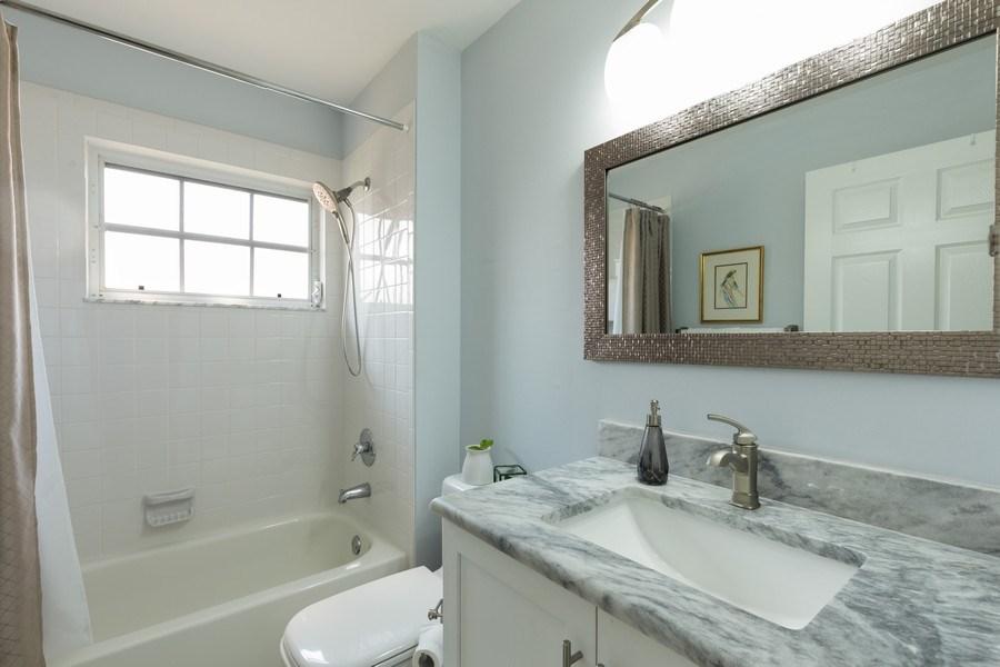 Real Estate Photography - 7096 Barrington circle #202, Naples, FL, 34108 - 2nd Bathroom