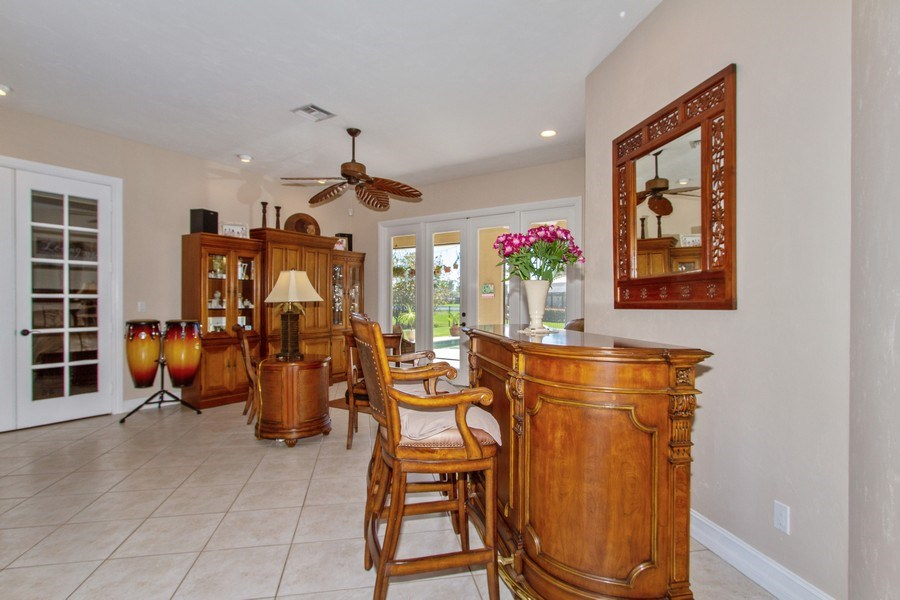 Real Estate Photography - 2118 Imperial Cir, Naples, FL, 34110 - Living Room
