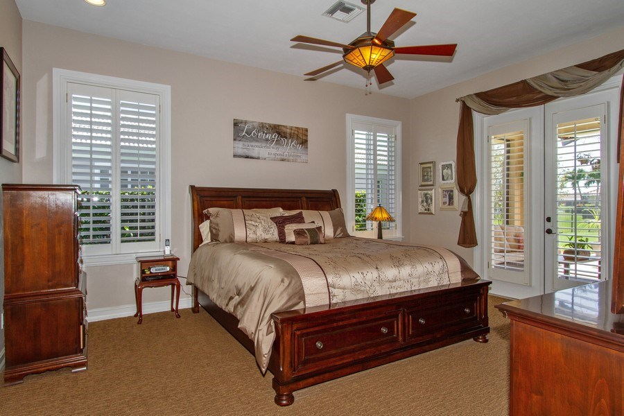 Real Estate Photography - 2118 Imperial Cir, Naples, FL, 34110 - Master Bedroom