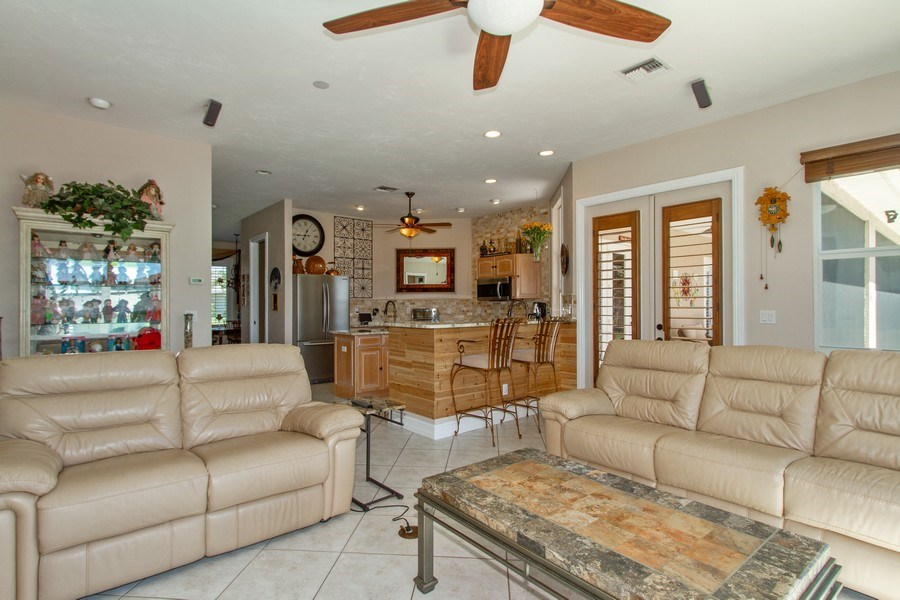 Real Estate Photography - 2118 Imperial Cir, Naples, FL, 34110 - Family Room