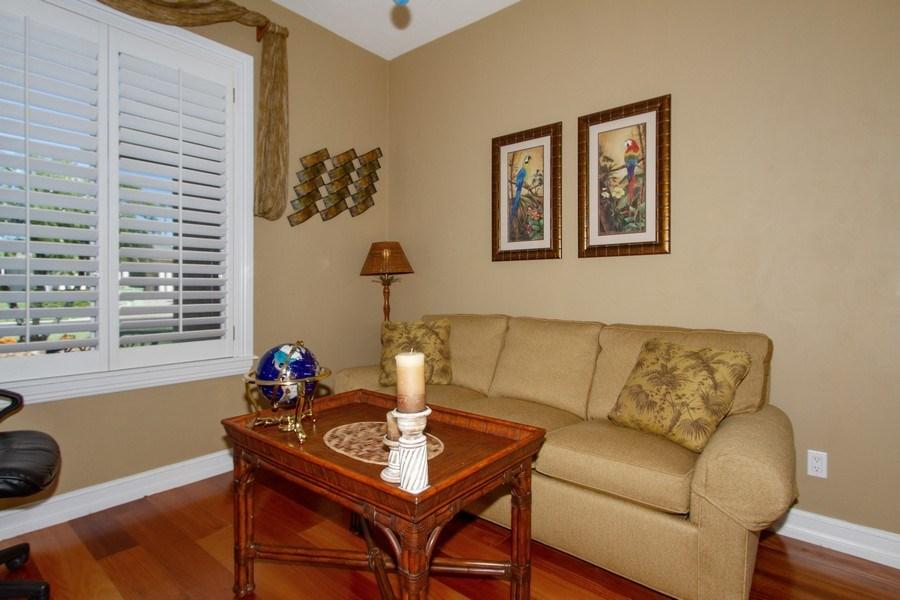 Real Estate Photography - 2118 Imperial Cir, Naples, FL, 34110 - Den