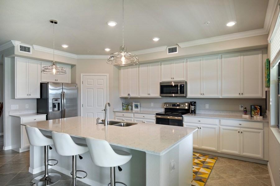 Real Estate Photography - 17271 Cherrywood Ct, #8701, Bonita Springs, FL, 34135 - Kitchen