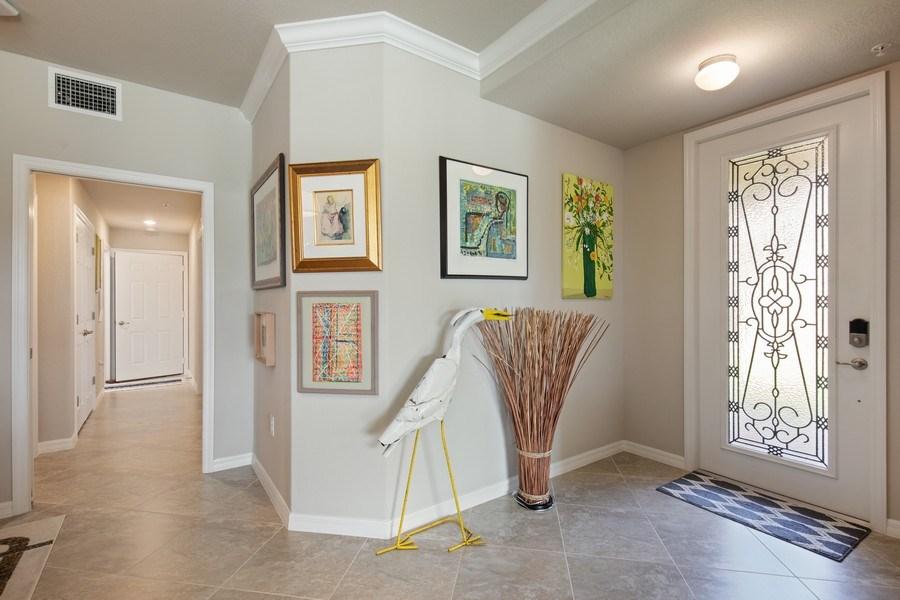 Real Estate Photography - 17271 Cherrywood Ct, #8701, Bonita Springs, FL, 34135 - Foyer