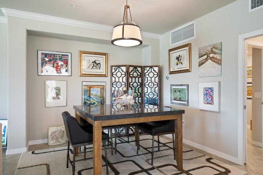 Real Estate Photography - 17271 Cherrywood Ct, #8701, Bonita Springs, FL, 34135 - Dining Room
