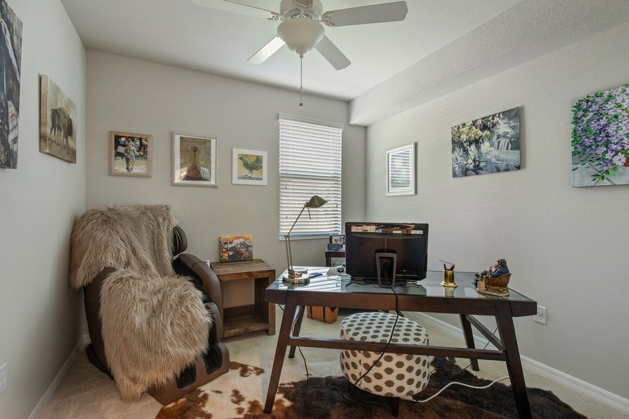 Real Estate Photography - 17271 Cherrywood Ct, #8701, Bonita Springs, FL, 34135 - Office