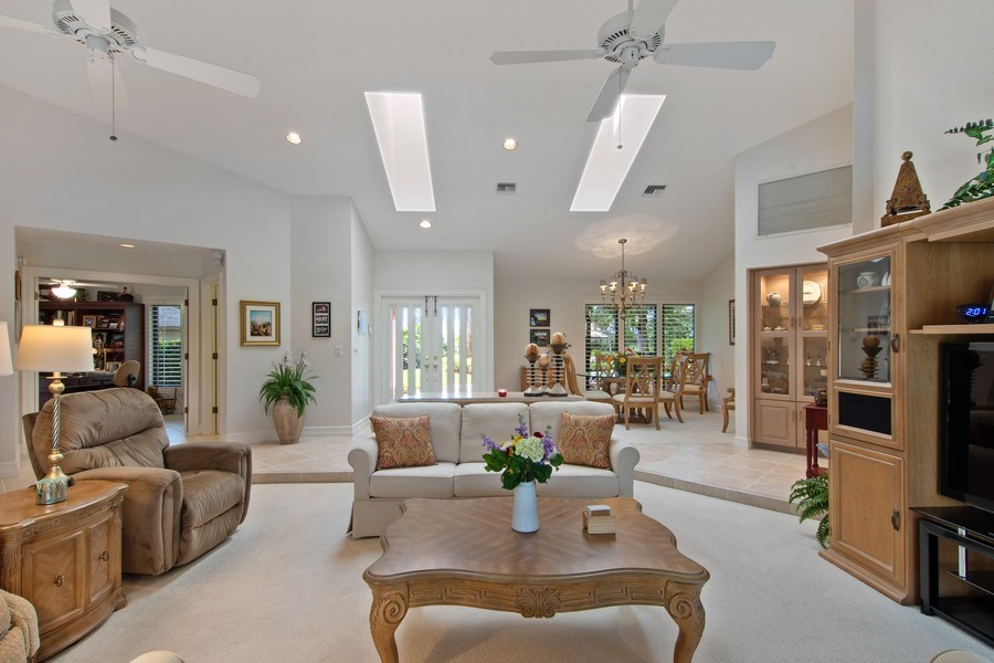 Real Estate Photography - 2204 Majestic Ct, Naples, FL, 34110 - Living Room