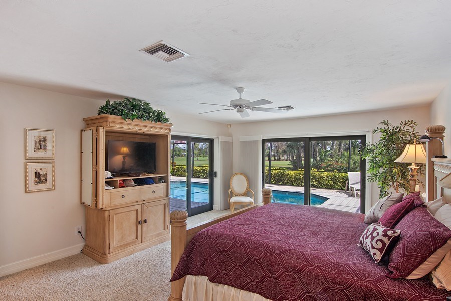 Real Estate Photography - 2204 Majestic Ct, Naples, FL, 34110 - Master Bedroom