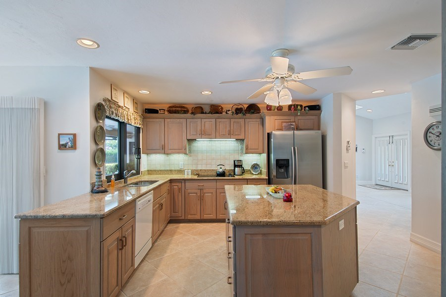 Real Estate Photography - 2204 Majestic Ct, Naples, FL, 34110 - Kitchen