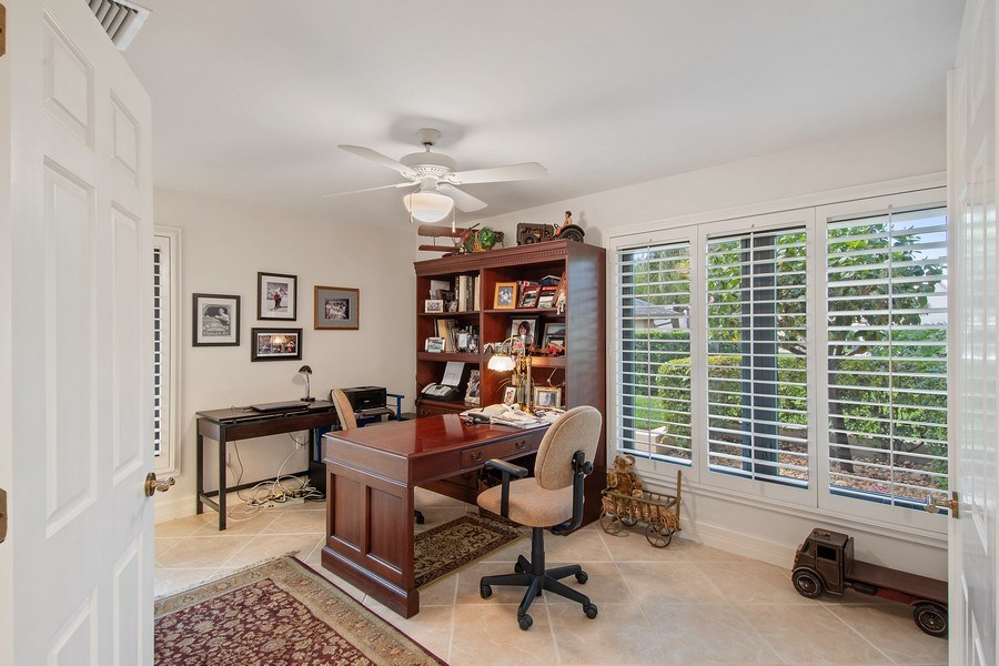 Real Estate Photography - 2204 Majestic Ct, Naples, FL, 34110 - Den