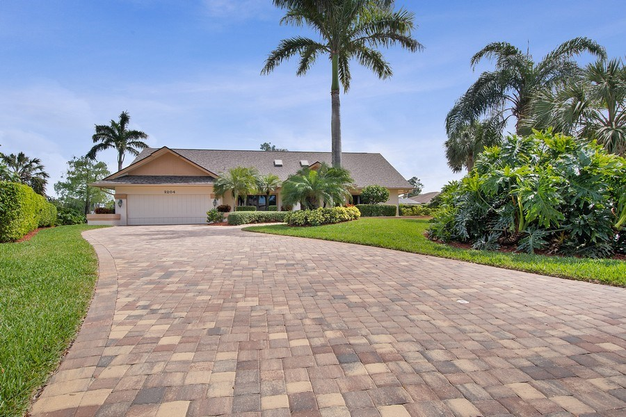 Real Estate Photography - 2204 Majestic Ct, Naples, FL, 34110 - Front View