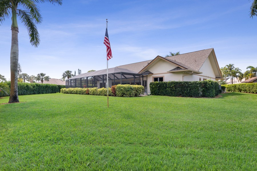 Real Estate Photography - 2204 Majestic Ct, Naples, FL, 34110 - Rear View