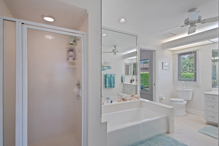 Real Estate Photography - 2204 Majestic Ct, Naples, FL, 34110 - Bathroom