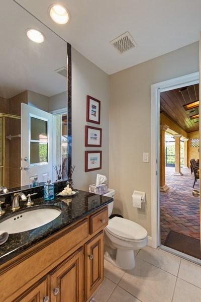 Real Estate Photography - 28841 Trenton Ct, Bonita Springs, FL, 34134 - 3rd Bathroom