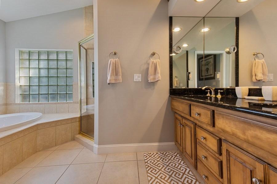 Real Estate Photography - 28841 Trenton Ct, Bonita Springs, FL, 34134 - Master Bathroom