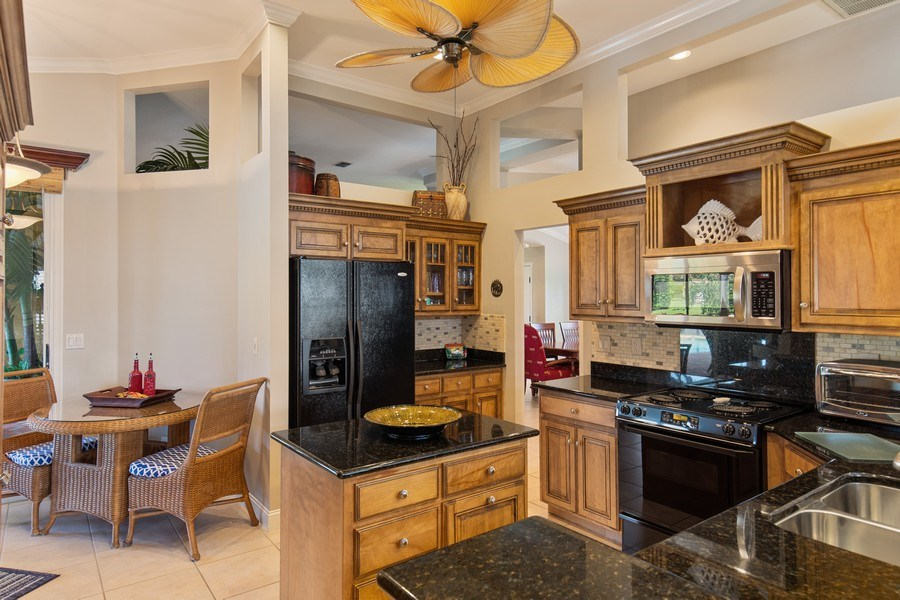 Real Estate Photography - 28841 Trenton Ct, Bonita Springs, FL, 34134 - Kitchen