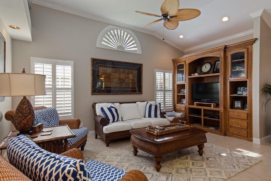 Real Estate Photography - 28841 Trenton Ct, Bonita Springs, FL, 34134 - Family Room