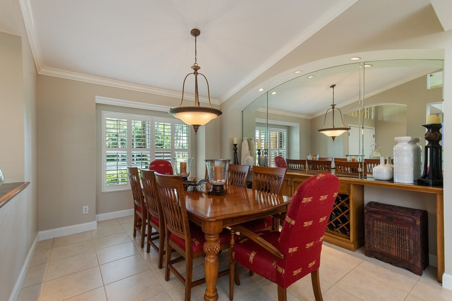 Real Estate Photography - 28841 Trenton Ct, Bonita Springs, FL, 34134 - Dining Room