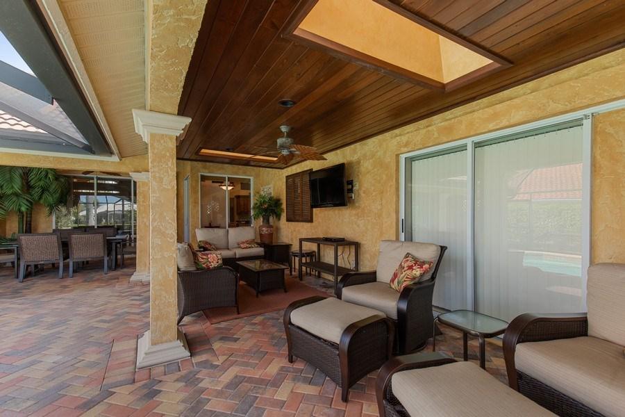Real Estate Photography - 28841 Trenton Ct, Bonita Springs, FL, 34134 - Lanai