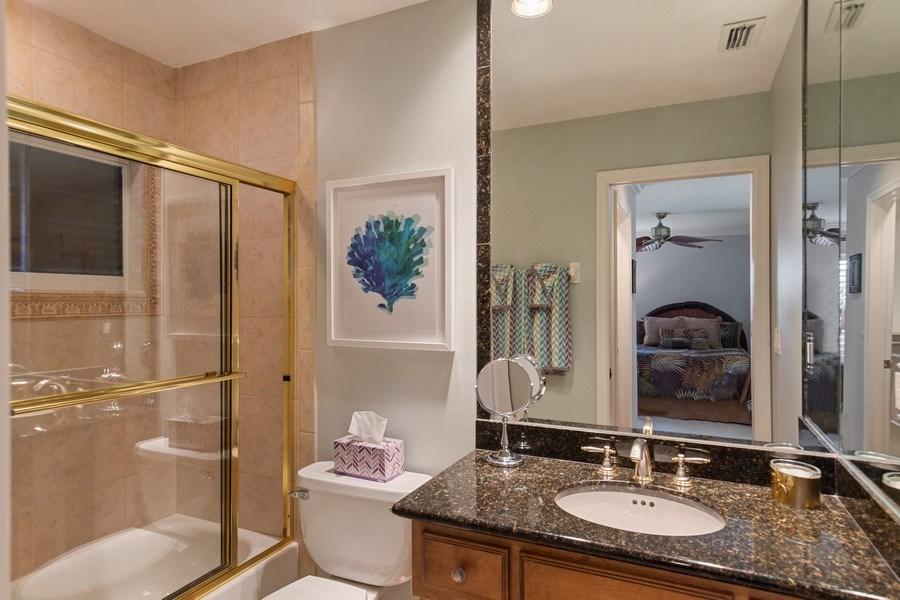 Real Estate Photography - 28841 Trenton Ct, Bonita Springs, FL, 34134 - 2nd Bathroom